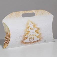 Коробка подарочная Всё исполнит Новый Год, 21.5x13.5x5 см 3573392